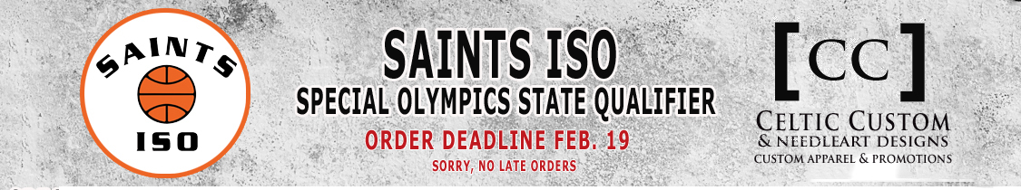 Saints ISO State Team store banner