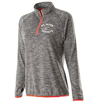 Ladies Fit Zip Performance Top
