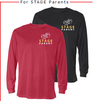 Parents' long sleeve performance tee