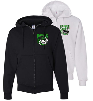 Jerzee hooded sweatshirt
