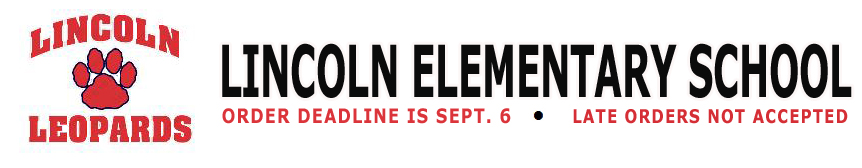 Lincoln Elementary School Fall Sale