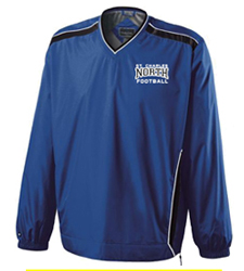 North Star Football 2016 Embroidered Performance Wind Shirt