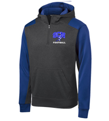 North Star Football 2016 Embroidered Zip Performance Top with Option to Add Number to Sleeve