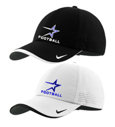 North Star Football 2016 Embroidered Performance Adjustable Cap in Black or White