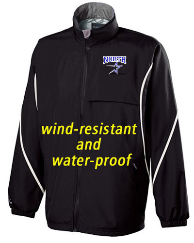 Circulate wind and water resistant jacket