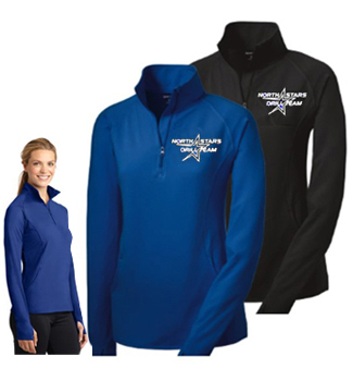 Ladies Zip Performance Top