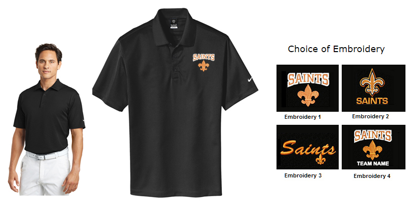 34c66fd17 The Saints Spiritwear Collection at Celtic Custom and NeedleArt ...