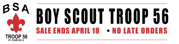 Boy Scout Troop 56 sale