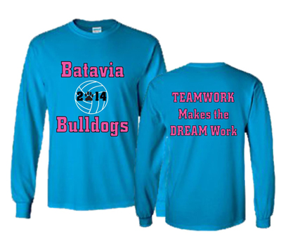 Batavia Volleyball Long Sleeve Tee
