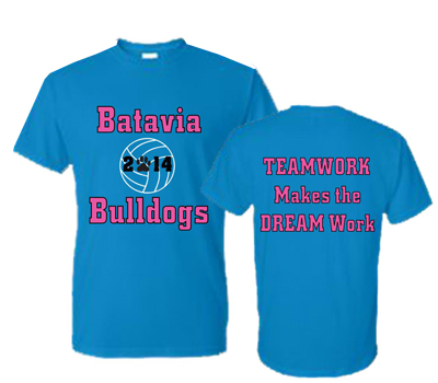 Batavia Volleyball Short Sleeve Tee
