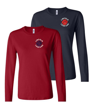 Ladies Fit Long Sleeve Embroidered Tee