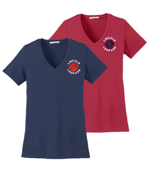 Ladies Fit Short Sleeve Embroidered Tee
