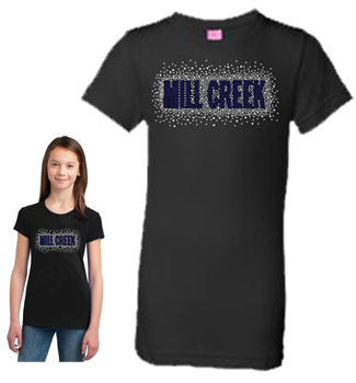 Girls Rhinestone Tee