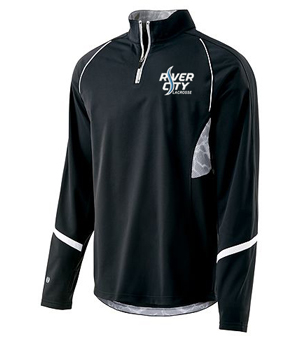 Coaches Half-Zip performance top