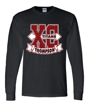 Titans Cross Country Long Sleeve Tee