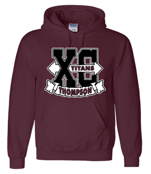 Titans Cross Country Hoodie