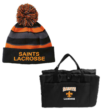 Saints knit cap