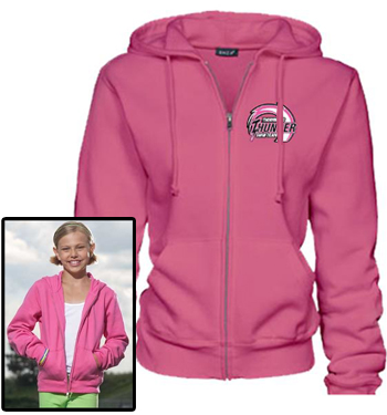 Girls and Ladies Zip Hoodie