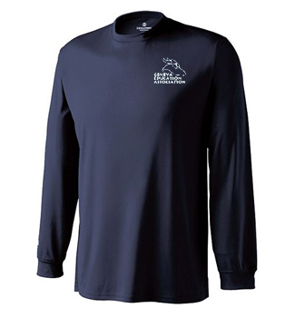 unisex performance long sleeve tee