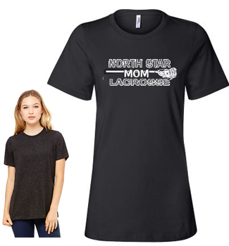 Ladies Bella 6400 Short Sleeve Mom Tee