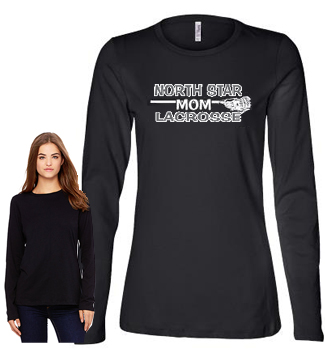 long sleeve Lax Mom tee